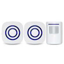 JXSFLYE Цифровой Беспроводной Дверной Звонок Добро Пожаловать Тело Дверной Звонок с Датчиком