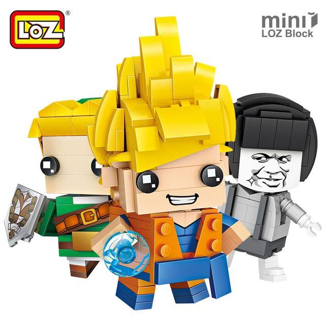 LOZ Mini Blocos Super-heróis Figura Tijolos Blocos de Construção De Montagem de Plástico Brinquedos para As Crianças Presentes Educacionais DIY Modelos Bonitos
