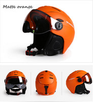 MOON Ski Helmet Ultralight Integrally Molded High Quality Professional Snowboard Skateboard Helmet Men Women Multi Colors