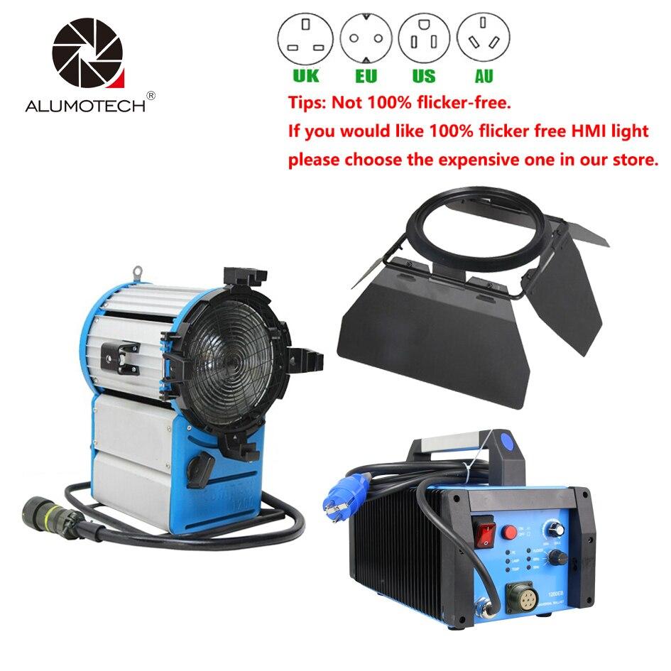 ALUMOTECH 1200W HMI Fresnel Lighting Electronic Ballast For Camera Film Moive Studio sheng 1200 s spot lighting hti1200w d7 60 msr1200gold sa de hmi 1200w holide lamps