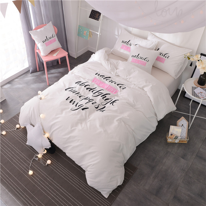100% cotton 4 Pcs King/Queen Size Embroidery Bedding Set High Quality white blue green Duvet Cover for girls100% cotton 4 Pcs King/Queen Size Embroidery Bedding Set High Quality white blue green Duvet Cover for girls
