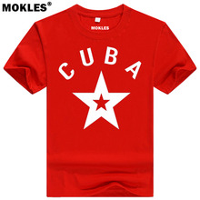 CUBA t shirt diy free custom made name number t-shirt nation flag spanish country republic cu college university cuban clothing