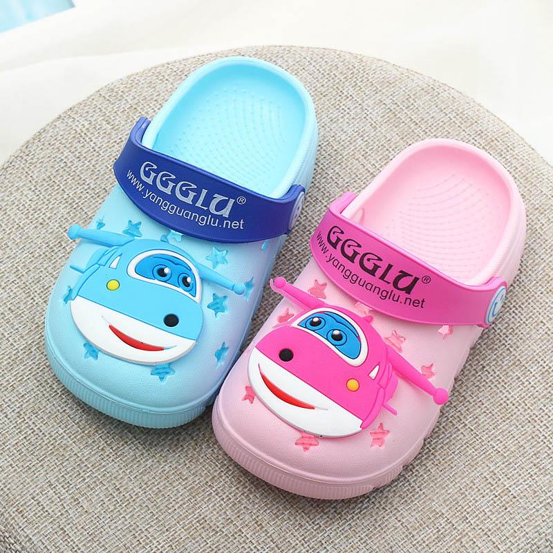 Pantofle dziecięce Animal Summer Girls Buty Cute Cartoon Beach - Obuwie dziecięce - Zdjęcie 5
