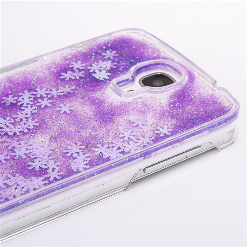 Snowflake Clear Samsung Galaxy S4 Case 12