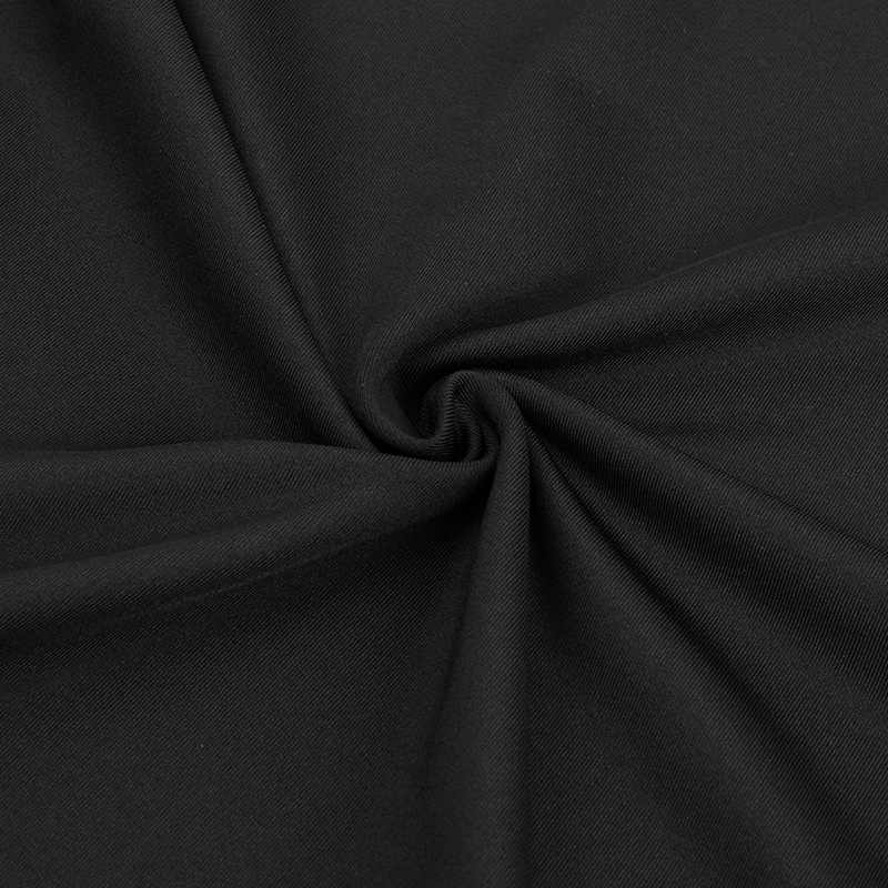 FANNAI koszulka do biegania czarny poliester szybkie suche odblaskowe z krótkim rękawem wysokiej jakości Top Gym koszula szkolenia budowy ciała FN039