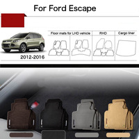 5pcs 1 2 Thick Solid Nylon Interior Floor Carpet Mats For Ford Escape 2012 2016