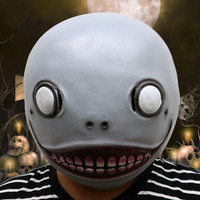1Pcs Realistic Alien Latex Masks Full Face Animal Monkey Mask Scary Mask Halloween Party Cosplay Prop