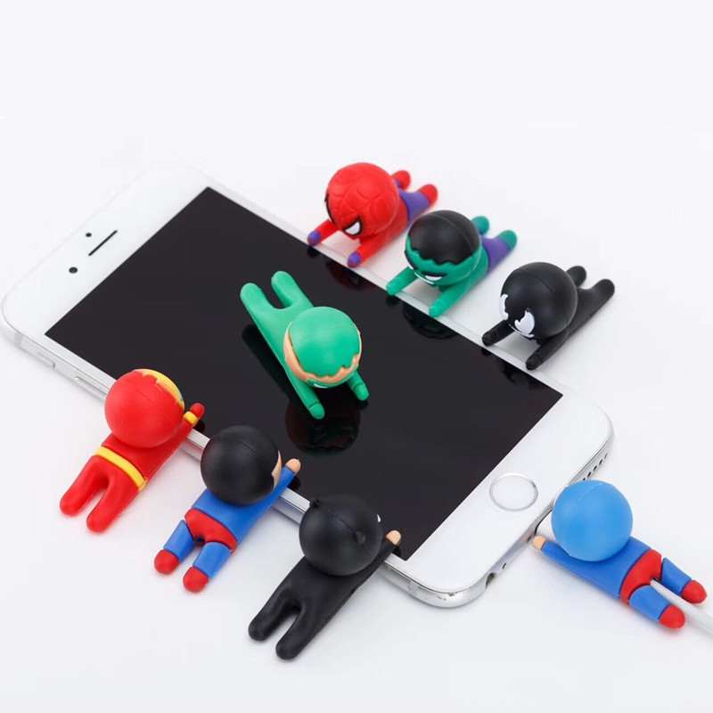 Cute Cartoon Cable Protector For iPhone X Xs XR 5 5s 6 6s 7 8 Plus USB Charging Data Line Cord Protector Case Cable Winder Cover