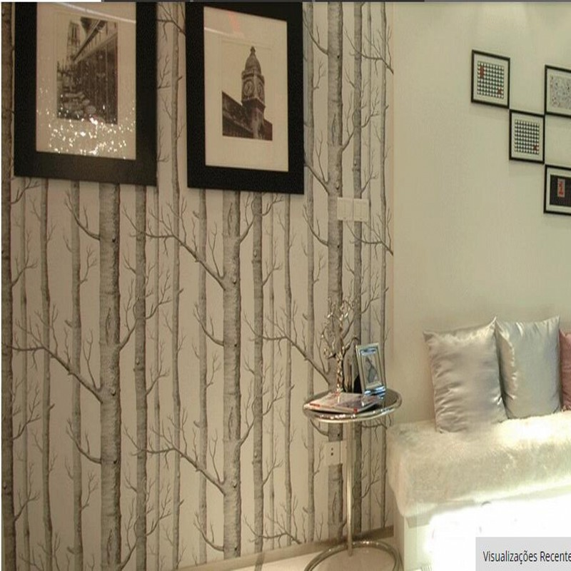 Popular decorative birch buy cheap decorative birch lots for High end designer wallpaper