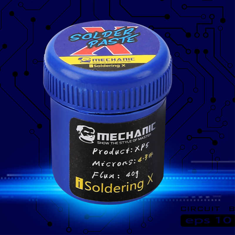 BGA Soldering Tin Paste For Low Temperature 148 Degree Solder Welding Flux