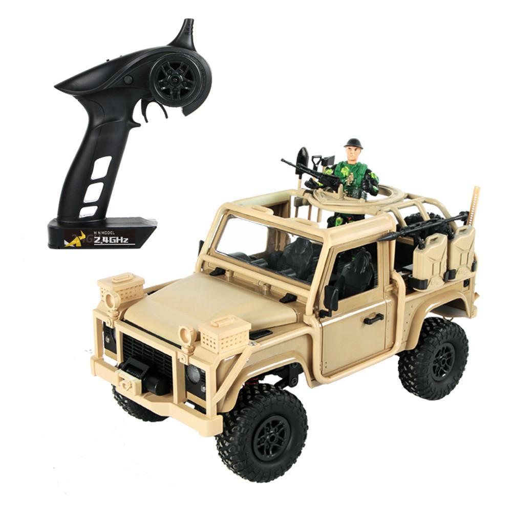 RCtown MN modèle MN96 1/12 2.4G 4WD contrôle proportionnel voiture Rc avec lumière LED escalade hors route camion RTR jouets