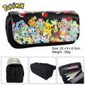 Pokemon Pikachu Jolteon Boy Girl Cartoon Pencil Case Bag School Pouches Children Student Pen Bag Kids Purse Wallet Gifts