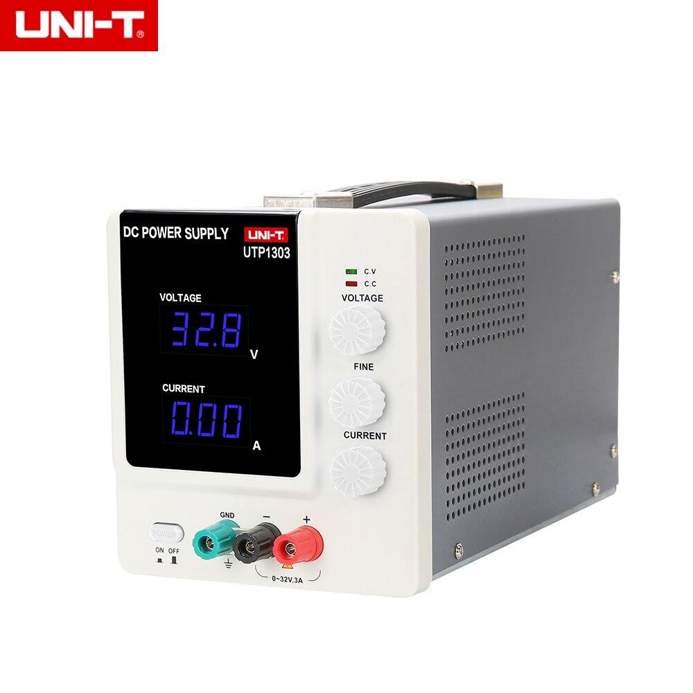 UNI T UTP1303 DC Питание регулируемые 0 ~ 32 В постоянной Напряжение, 0 ~ 3A постоянный ток Функция (Вход 115/230 В переменного тока)