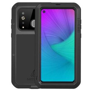 Image 3 - Funda de Metal Love Mei para Samsung Galaxy A9, A8, A6 Plus, 2018, A9S, A8S, S10, 5G Plus, S10E, A70, 2019, carcasa a prueba de golpes