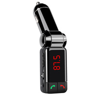 Car Bluetooth FM Transmitter MP3 Audio Player Wireless Modulator Car Kit HandsFree USB Charger For Mobile