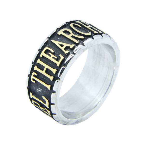 Visit To Stainless Steel Magic Lord Of The Ring Male Female Finger Rings