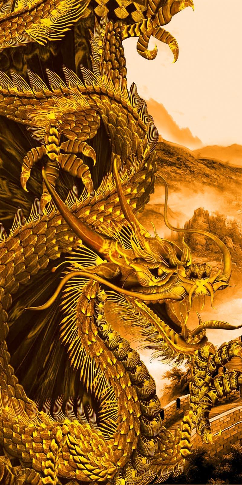US $17 54 OFF Golden Dragon Wallpaper Custom Photo Wallpaper 3D Of Wall Paper Bedroom Living Room TV Background Wall Covering Mural