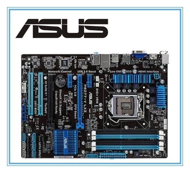 100% original ASUS motherboard P8Z77-V LX2 LGA 1155 DDR3  i3 i5 22/32nm CPU USB3.0 32GB SATA3 VGA HDMI Z77 Desktop motherboard литой диск replica fr lx 98 8 5x20 5x150 d110 2 et54 gmf