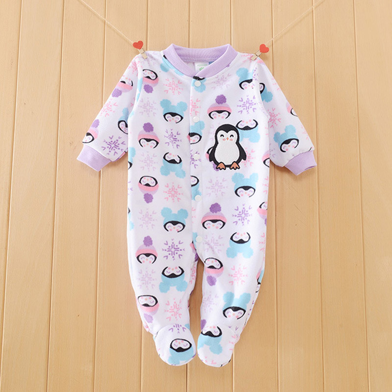 Winter Baby Rompers Cotton Baby Girl Clothes Newborn Baby Clothes Baby Boy Clothes Roupas Bebe Infant Jumpsuits Kids Clothing