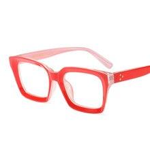 f9a70b8abf4 Luxury Brand Designer Leopard Temple Rivets Eye Glasses Men Women Full Frame  Myopia Eyeglasses Prescription Eyewear Clear Lens