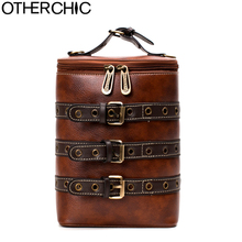 Otherchic PU модные кожаные Ремни женщин Сумки старинные плеча Сумки Crossbody сумки подросток женщины Рюкзаки SAC L-7N08-02