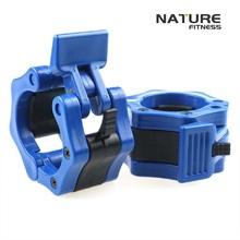 1 Pair Blue 2″ Olympic Weight Lifting Barbell Collars Gym Lock Collars Fitness Body Building Clamps