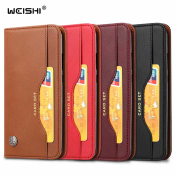 Luxury High Quality Wallet With Card Slot Magnetic Flip Cover Leather Case For Xiaomi Redmi S2 5.99'' Phone Protective Cases