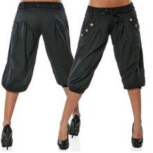 YJSFG HOUSE Hot Women Pants Palazzo Harem Baggy Aladdin Hippy Trousers Elastic Waist Loose Plus Size Lantern Pant Harajuku