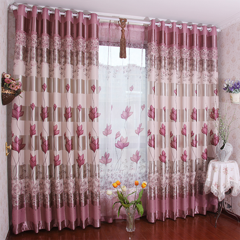 Curtains Double Faced Dodechedron Print Curtain Chinese Style Living Room Bedroom Finished Product Shade Cloth In From Home