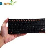 Binmer mecallテックミニusbハンドヘルドのbluetooth 3.0ワイヤレスキーボード用アプリスマートフォンタブレットpc