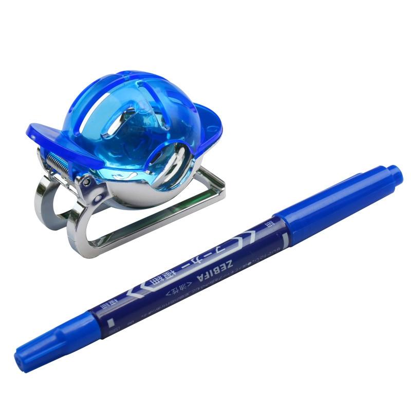 1 Set Golf Ball Liner W Pen Golf Ball Line Marker Drawing Alignment Golf Accessories Drop Ship
