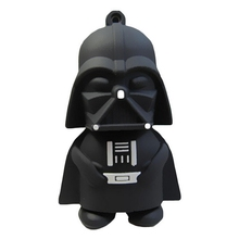 USB 3.0 16 GB 32 GB USB Flash Drive 512 GB Pen Drive 128 GB Palillo de la Historieta de Star Wars Darth Vader Yoda Pendrive de memoria 3.0 64 GB regalo(China)