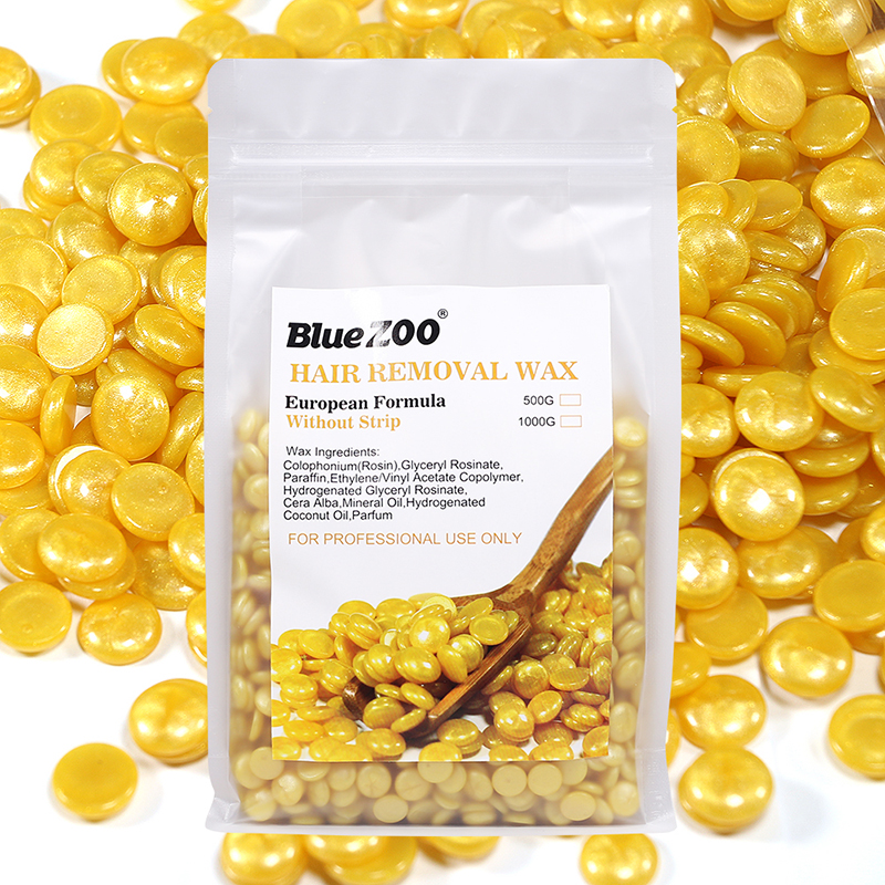 500g/Bag Dropship Painless Without Strips Depilatory Shimmer Hard Wax Beans For Hair Removal