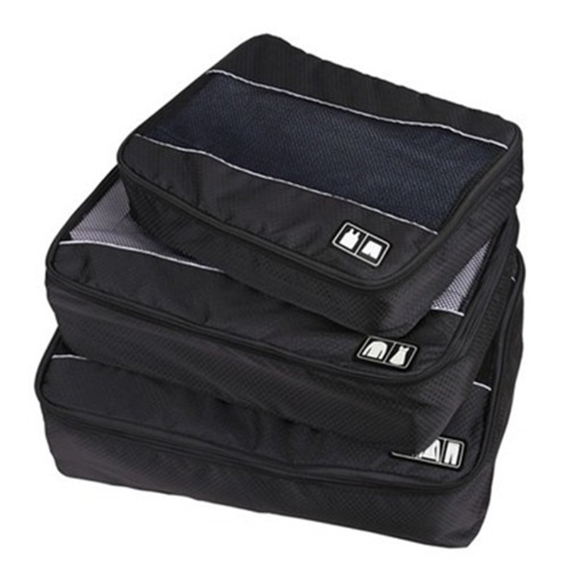 Travel storage bag large capacity portable pouch clothes tidy organizer travel accessories packing cube sets travel bag 387