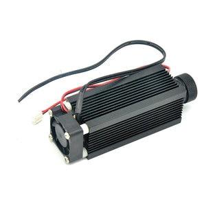Image 5 - 33mm x 80mm focusable 알루미늄 c 마운트 적외선 레이저 다이오드 diy 하우징/케이스/호스트 w/냉각 팬 및 유리 렌즈