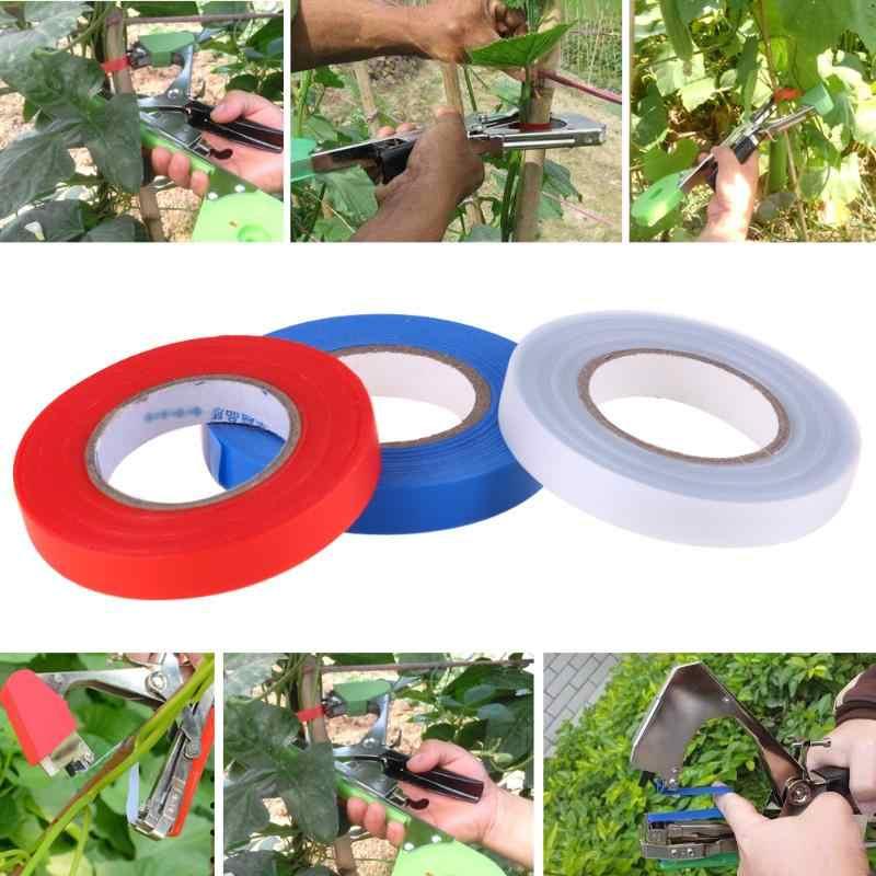 3 יח'\חבילה גן קלטת גיזום מזמרה גן סרט עץ עבור השתלת גינון סניף חגורת מחייב תחרה כלים PVC דבק קלטת