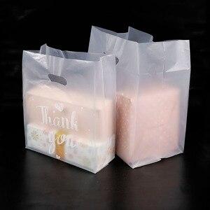 Image 5 - Bolsa de plástico para el pan de agradecimiento, 50 Uds., bolsa para regalar galletas, recuerdo de fiesta de boda, bolsas transparentes para envolver alimentos