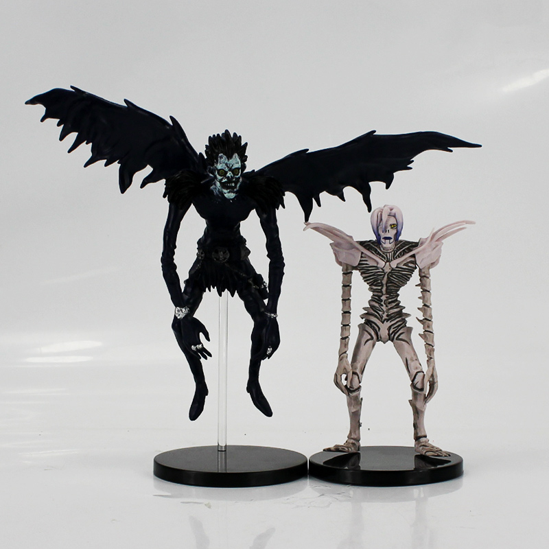 15-22cm Death Note Rem Ryuk Deathnote L PVC Figure Model Toy for growups gift 2017 new death note l ryuuku ryuk pvc action figure anime collection model toy dolls 24cm
