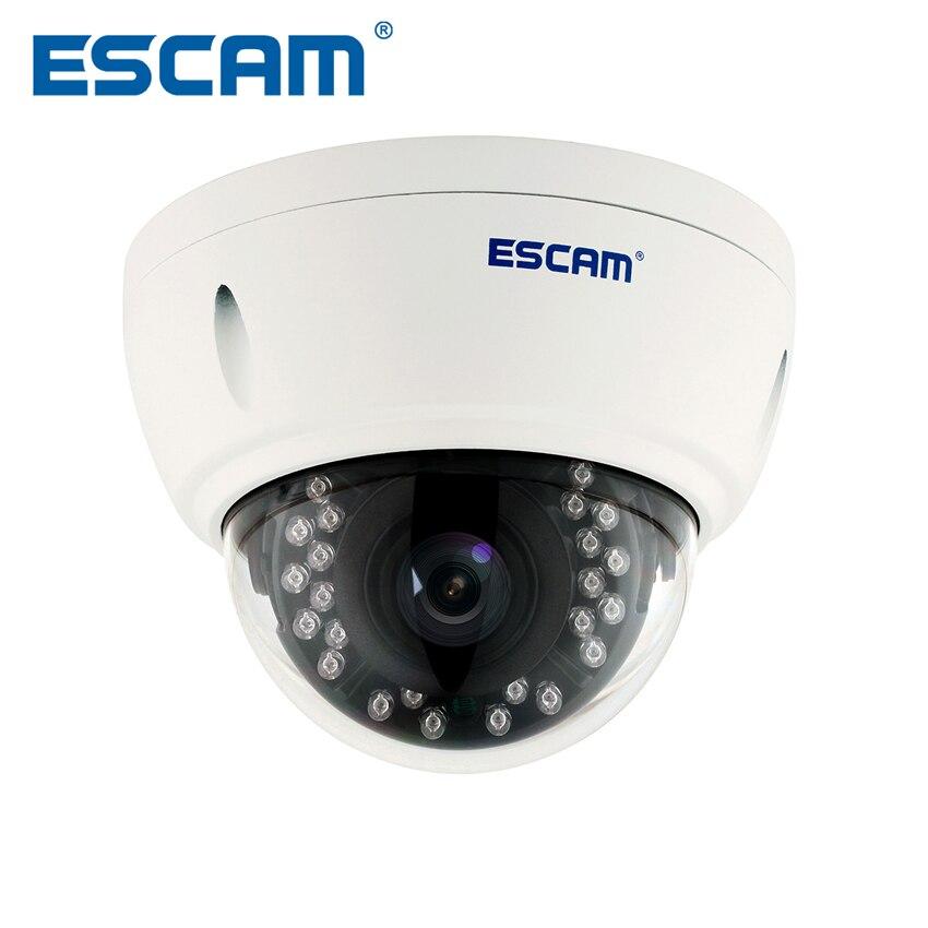 Caméra IP dôme Escam QD420 H.265 4MP 1520 P Onvif P2P IR Surveillance extérieure Vision nocturne caméra de vidéosurveillance Android iPhone