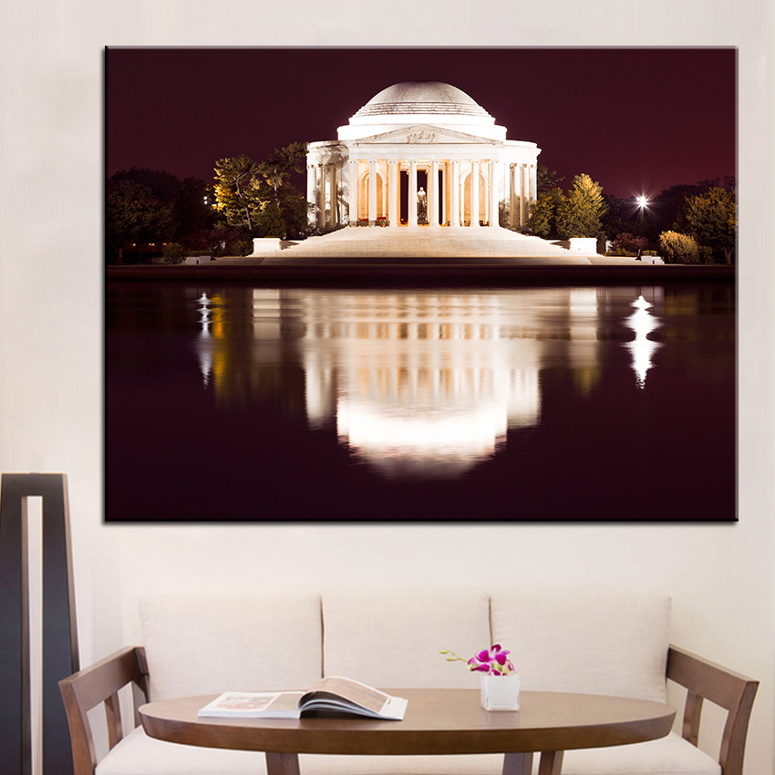 Large Size Printing Oil Painting Thomas Jefferson Wall