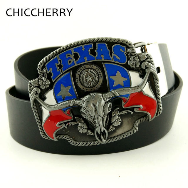 Male Black PU Leather Texas Belt Buckle Hombre Hebilla Cinturon Bull Head  Big Buckles Western Country Cowboy Men Belts for Jeans 60abf364cfd