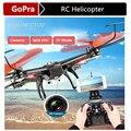 Wltoys V686K WIFI modo Headless 6-Axis Gyro 2.4 G 4CH FPV Quadcopter FPV WIFI UFO RC helicóptero zangão com câmera HD Dron VS V686