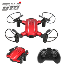 Mini Drone with HD Camera Foldable Drones RC Quadcopter with Camera Drone Helicopter 2.4G 4CH 6 Axis Gyro RC Toys 668-A7