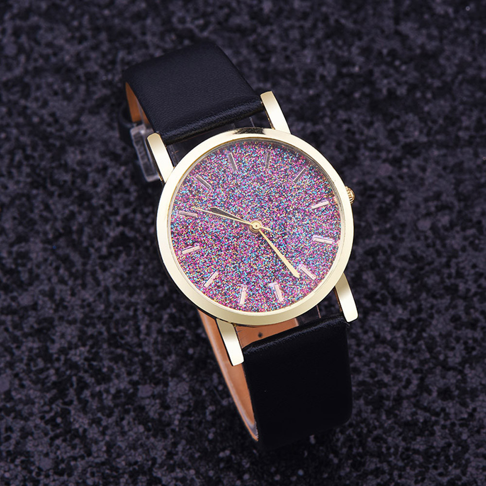 Watch Women Watches Relogio Feminino Reloj Mujer imitate diamond design luxury brand leather rhinestone quartz dress Clock #YH24 classic simple star women watch men top famous luxury brand quartz watch leather student watches for loves relogio feminino