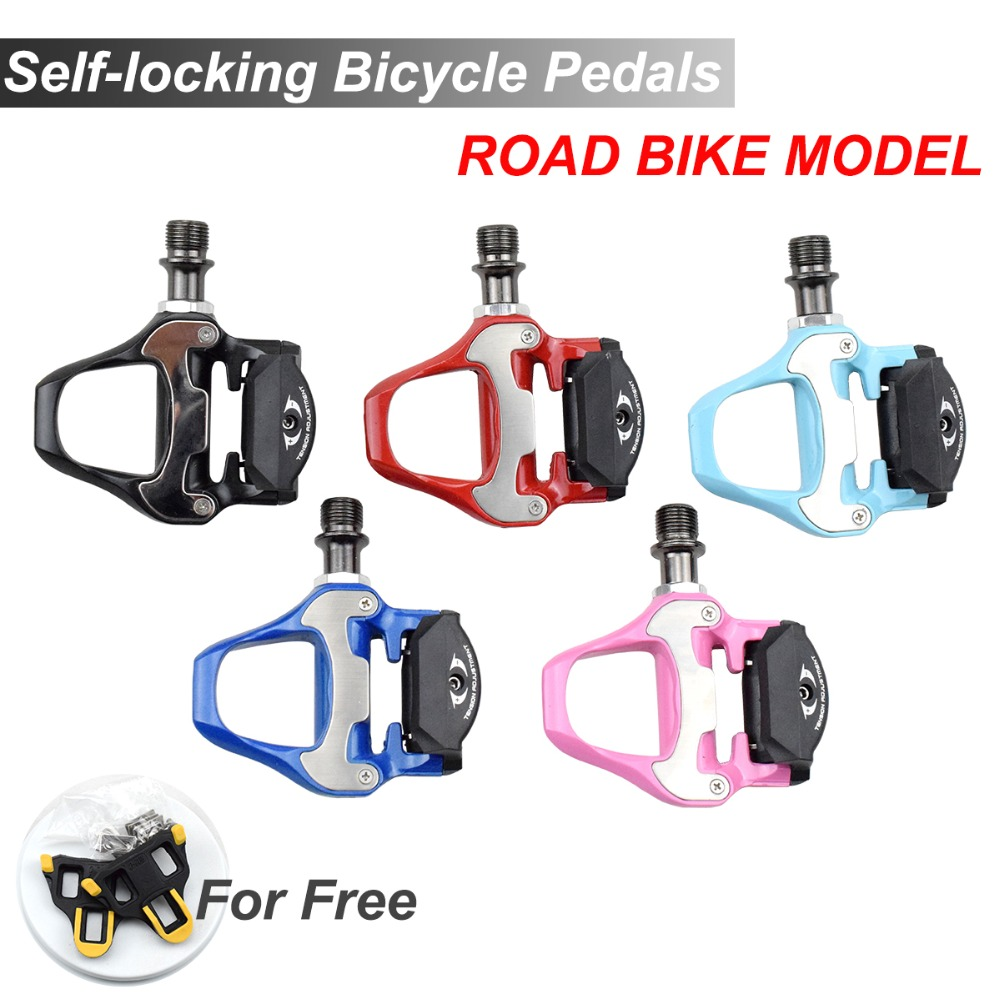 SPD SL 9 16 Sealed Bearing Alloy Bike Lock Pedals 5 Colors Bicicleta Pedal Self locking