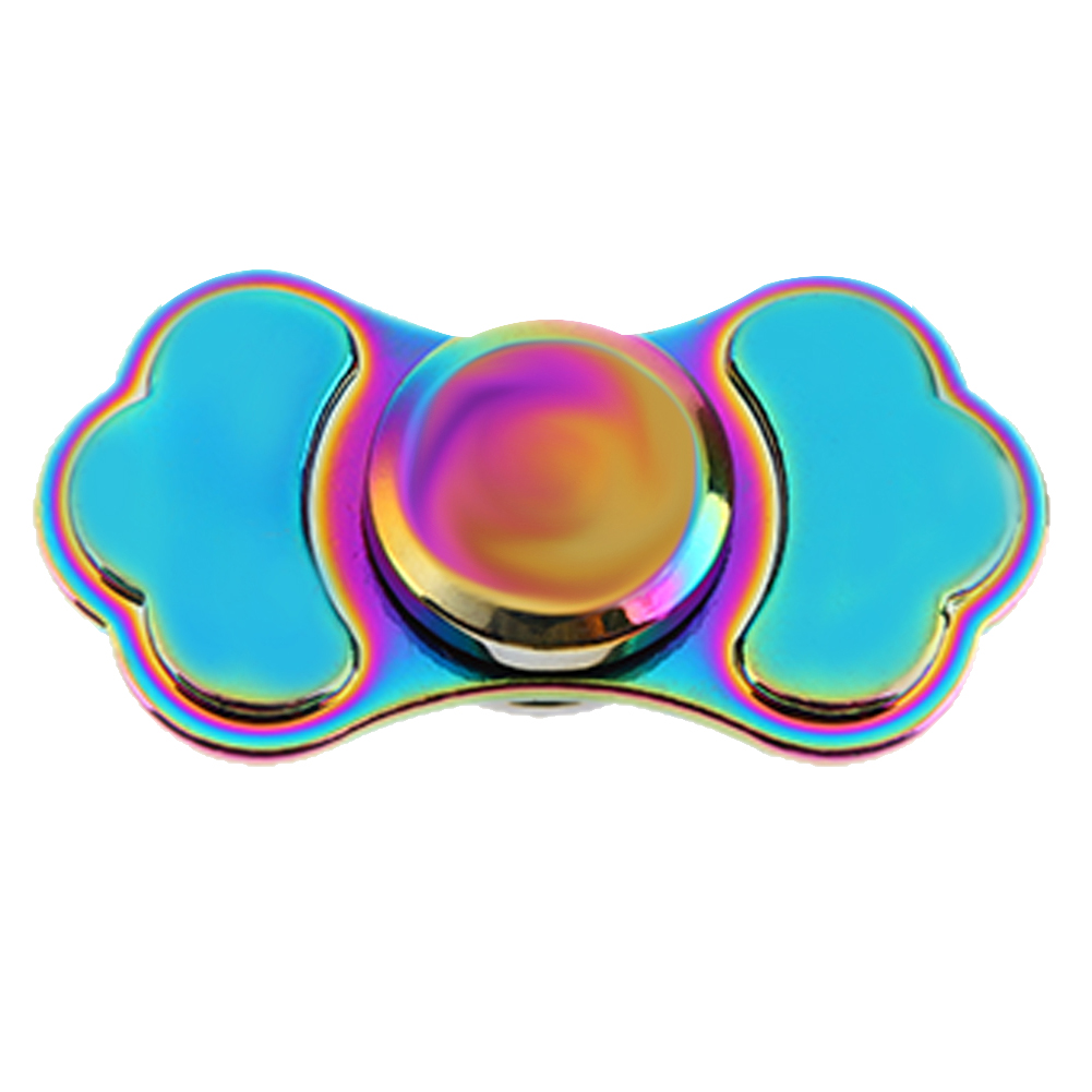Colorful Fidget Spinner Metal Alloy EDC Hand Spinner Anti Stress Reliever ADAD Decompression Toy Fast Rotation