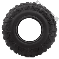 INJORA 4PCS 2.2 Rubber Mud Grappler Tires 120*43MM for 1:10 RC Rock Crawler Axial SCX10 SCX10 II 90046 90047 Traxxas TRX-4 TRX4 4