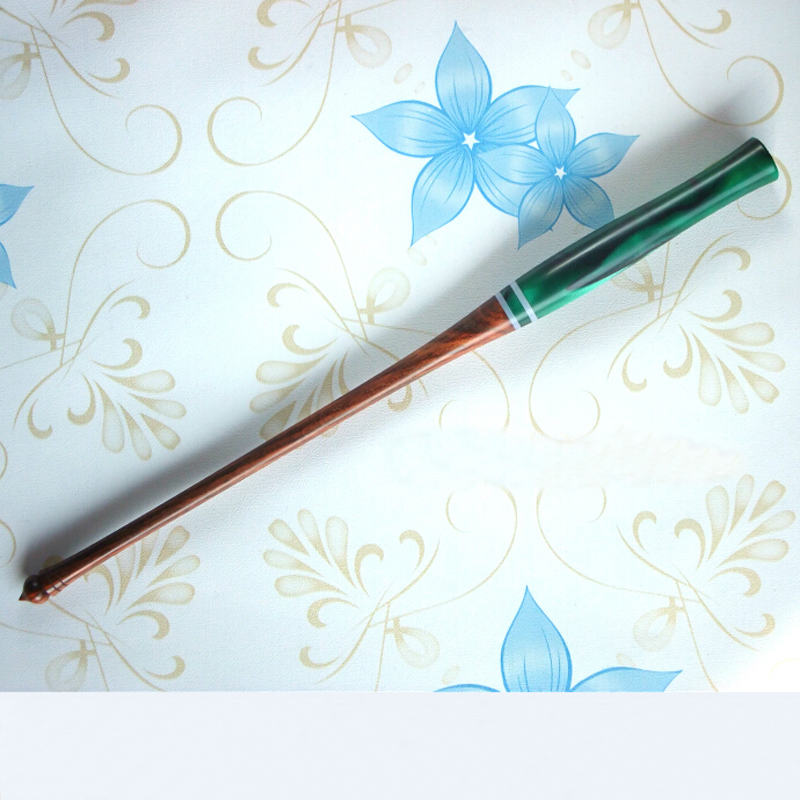 цена на Deluxe High Quality Copperplate Script Rosewood Dip Pen Holder Best Gift Straight Calligraphy Dip Pen