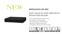 DAHUA 16/32CH 1U 4K&H.265 NVR support 2HDD Onvif with 16ch POE Without Logo NVR5216-16P-4KS2/NVR5232-16P-4KS2