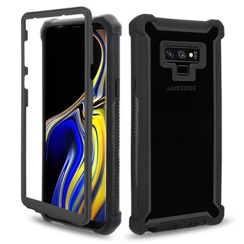 Urban Doom Armor Protection PC TPU Phone Case for Samsung Galaxy S20 S10 S9 S8 Plus Note 20 10 9 8 Heavy Duty Shockproof Cover luxury defender shockproof protection phone case for samsung galaxy s10 plus s10 5g s9 s8 s7 note 10 pro 9 8 hybrid armor cover